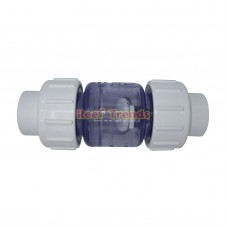 Clear True Union Swing Check Valve