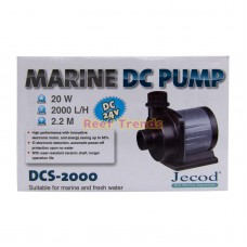 Jebao DCS-2000 Submersible Return Pump (with barb fittings)